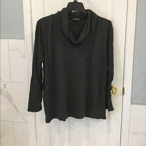 Lord & Taylor Light Weight Grey Sweater